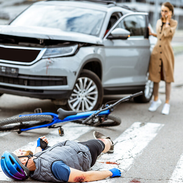 Vehicle or Pedestrian Accident